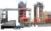 Автоматическая линия для производства кирпичей, блоков и тротуарной плитки.
