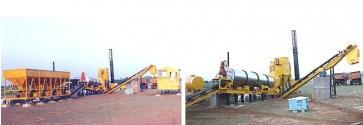 Асфальтобетонный и асфальтовый завод контейнерного типа