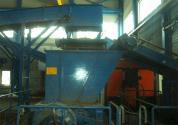 Мини-завод по переработке автомобильной резины на мелкие гранулы